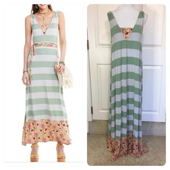26335cee256 Matilda Jane Mint Stripe Seaside Afternoon Maxi.  M 5cb3c5dbaa7ed3895b831ee7. Other Dresses ...
